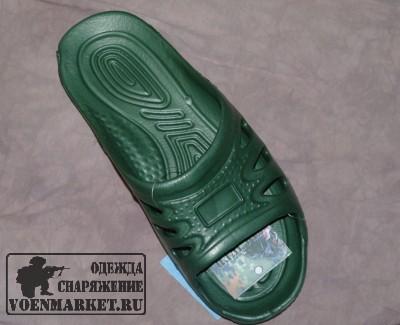 Тапочки армейские казарменные зеленые купить в москве